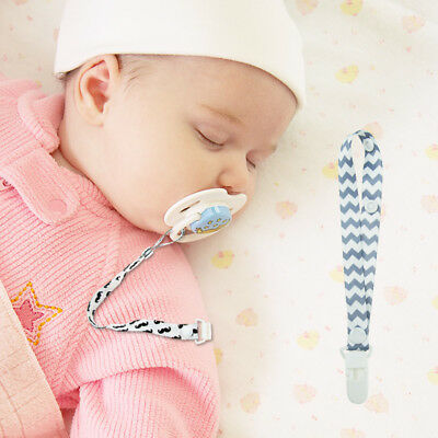 US Baby Kids Chain Clip Holders Boy Dummy Pacifier Soother Nipple Leash Strap
