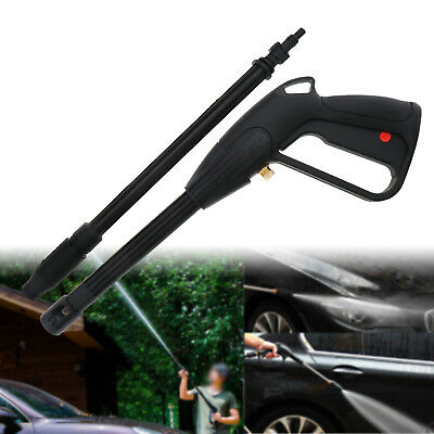 Plastic High Pressure Washer Spray Wash Car Gun With Adjustable Nozzle