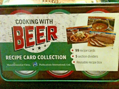 Cooking with Beer - Recipe Card Collection, Add Flavour & Fun 2 Your Meals! Nice