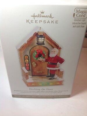 QXG4777 Decking the Door Once Upon A Christmas 2011 Hallmark Keepsake Ornament