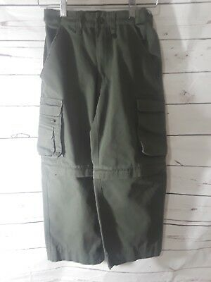 Boy Scouts Of America Official Uniform Cargo switchback pants youth 8 BSA