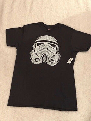 Disney Parks Star Wars Stormtrooper Large Mens Tee 100% Cotton NWT