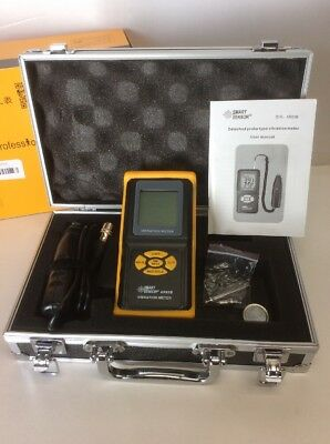 Smart Sensor AR63B Digital Precision Vibration Meter Tester Gauge Analyzer !NEW!