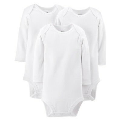 3pc NEW CARTER'S JUST ONE YOU GIRL/BOY UNISEX TODDLER white bodysuit 18 m months