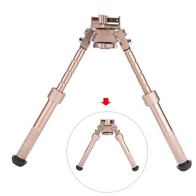 V8 Style Tactic Rifle Bipod 360-degree Adjustable Legs Precision For Hunting