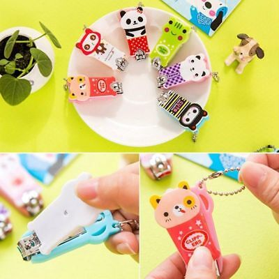 Cute Cartoon Animal Manicure Set Nail Care Clipper Tool Scissors Gift Newest