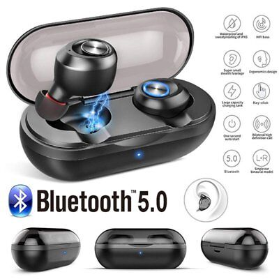 Bluetooth 5.0 Wireless Headphones TWS Mini Headset Earphone Earbuds for Samsung
