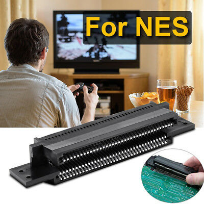 US 72 Pin Connector Replacement Cartridge Slot For Nintendo NES 8 Bit System