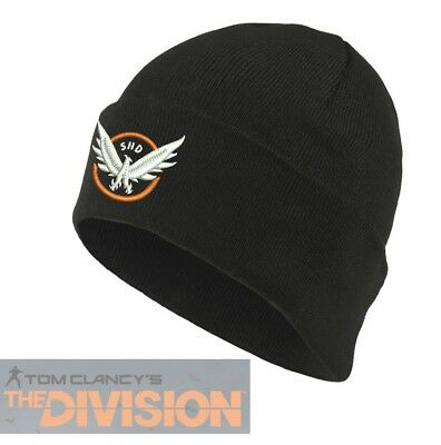 8d85158f18a Tom Clancy's The Division Hat Cosplay Agent Beanie Hat Eagle Head Graphic