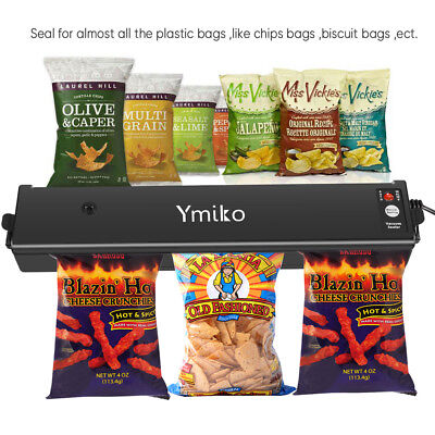 Commercial Automatic Food Vacuum Sealer Saver Packing Sealing Machine System