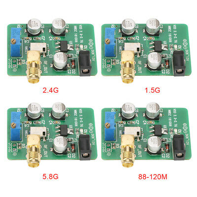 2.4G/1.5G/5.8G/88-120M Sweep Voltage Control Signalquelle VCO RF wifi GPS FM