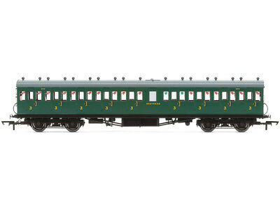 Hornby R4795 Personenwagen 58ft Maunsell Rebuilt Ex-LSWR 48 Nine Compartment 3.K