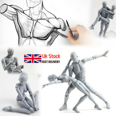 Drawing Figures for Artists - A Better Artists Mannequin-Gestures & Lessons UK