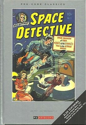 Space Detective - Vol 1 - Issues #1-#4 - Precode Science Fiction Comics