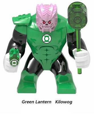 DC Super Heroes Green Lantern Kilowog Mini Figure Avengers Fit lego Marvel