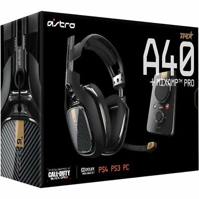 ASTRO Gaming A40 TR Headset + MixAmp Pro Gaming Headset for PS3 PS4 PC MAC