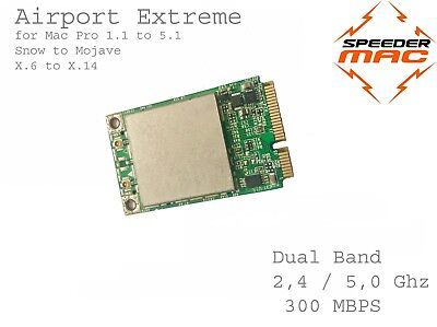  Airport Extreme 300Mbps Dual 2,4/ 5 Ghz for Apple Mac Pro / Mini Wi-Fi Card