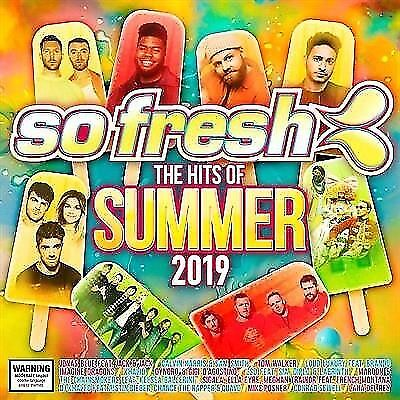 So Fresh Hits Of Summer 2019 CD