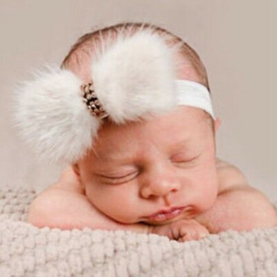 Lovely 3 Colors Baby Infant Kids Girl Big Bow Hair Band Headband Accessories Hot