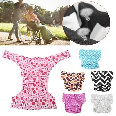 6 Types Care Reusable Nappy Adjustable Adult Cloth Diaper Women Health