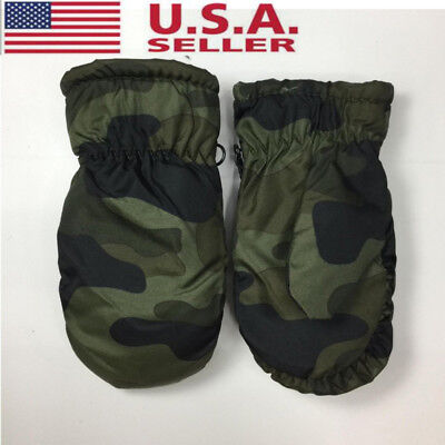 New Boys Girls Snow Ski Gloves Child Toddler Winter Thick Sports Mittens Warmer