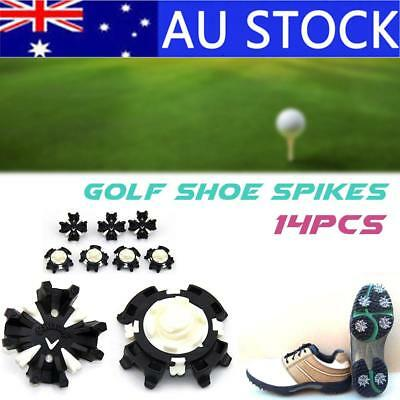 14Pcs Golf Shoes Spikes Fast Twist Replace Cleat Screw-in Studs Fit Footjoy