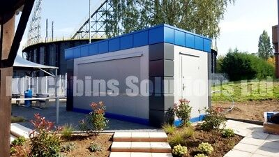 NEW    Modular Building Portable Cabin portable office marketing suite 20ftx10ft