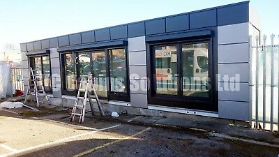 NEW Modular Building Portable Cabin portable office marketing suite 40ftx10ft