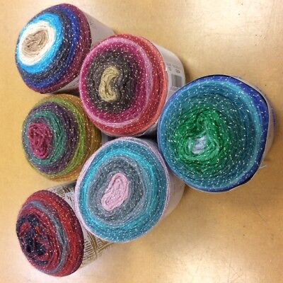 Katia Silver Paint Double Knit Yarn Cakes