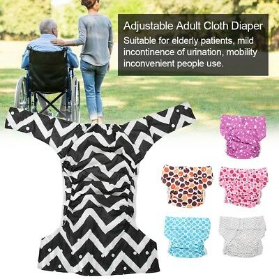 Teen Adult Cloth Diaper Nappy Reusable Washable Inserts Incontinence Age Pants