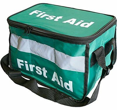 Safety First Aid Group Empty Haversack Bag for First Aid Kits, HSE/British ...