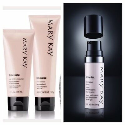 Mary Kay TimeWise 3in1 Cleanser & Age fighting Moisturizer & Firming Eyecream