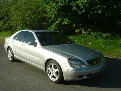 2000/X Mercedes S320 Petrol W220. 135k. MOT May 2019. Modern Classic very soon??