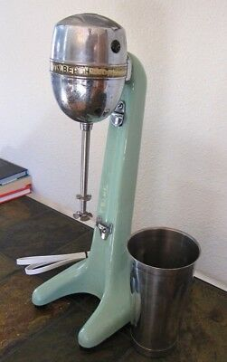 Vintage - Hamilton Beach Number Thirty Jadite Milkshake Drinkmaster green