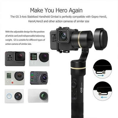 Feiyu G5 3-Axis Splash-Proof Handheld Gimbal Stabilizer for GoPro 5 Camera