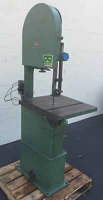 "Rodgers 1Hp Vertical Band Saw 20"" Throat B20 Cutting Industrial"