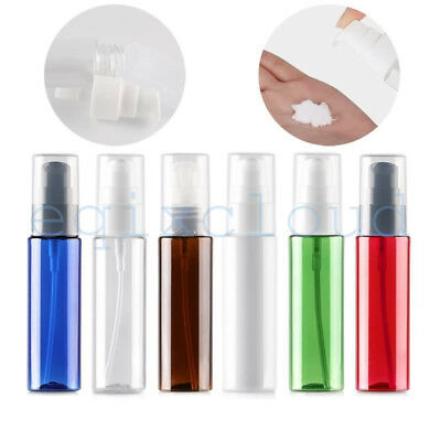 2/12/24x 30ml PET leer Kosmetik Flasche Lotion Gel Pumpspender Leerflasche Reise