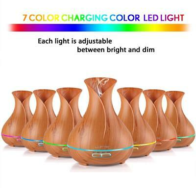 Air Aroma Essential Oil Diffuser LED Ultrasonic Aromatherapy Humidifier 300ml