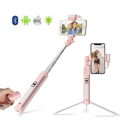 Selfie Stick Bluetooth Remote Shutter Tripod Mount All Cell Phone iPhone Galaxy
