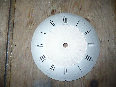 Antique/vintage Silvered Clock Face