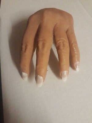 Nail technician practice hand silicone flexi with arm accesories any skin tone
