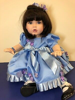 "20"" Marie Osmond Charisma Brands ""Baby Lisa"" 1603/3000 Limited W/ Box & COA"