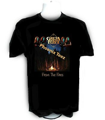 Greta Van Fleet From the Fires t shirt  S-6X