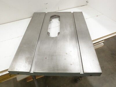 Delta Model 10 Table Saw Cast Iron Top