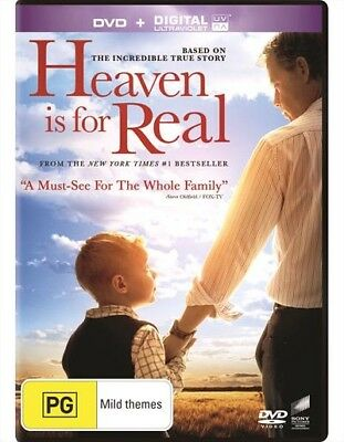 Heaven Is For Real (Dvd, 2014) [Brand New & Sealed]