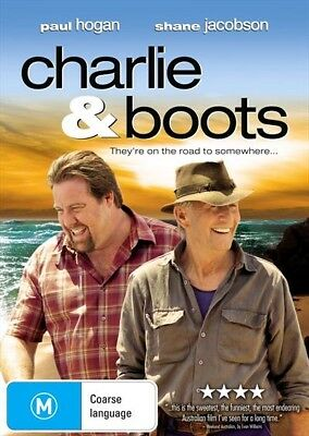 Charlie And Boots (Dvd, 2009) [Brand New & Sealed]