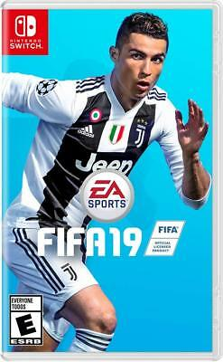 FIFA 19 - Standard (Nintendo Switch, 2018) Brand NEW Sealed