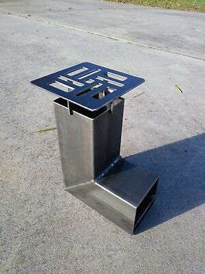 Rocket Stove All Welded Steel Construction Classic Design