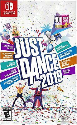 Just Dance 2019 (Nintendo Switch, 2018) Brand NEW Sealed