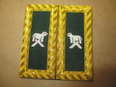 Knight Templar Generalissimo Shoulder Boards Pair Hand Embroidered